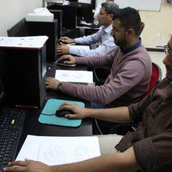 (AutoCAD) تطبيقات على برنامج التصميم لمجموعة من مهندسي مجموعة السيد كاظم الدرازي